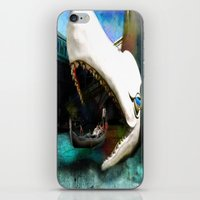 Whale of a Ride iPhone & iPod Skin