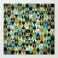 Triangles I Canvas Print