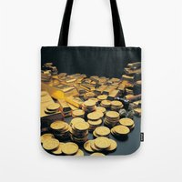 Gold Coins Tote Bag