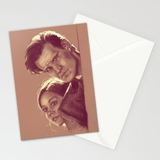 Mysterious People - Doctor Who Stationery Cards