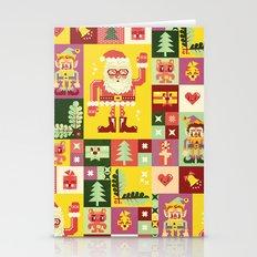 Christmas Geometric Patt… Stationery Cards