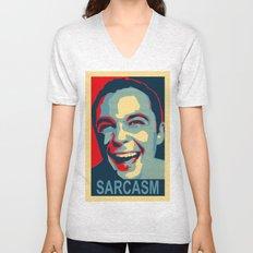 Sarcasm Unisex V-Neck