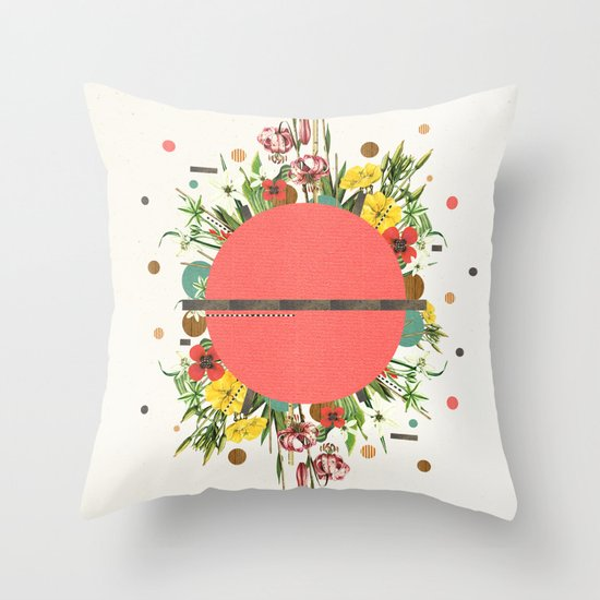 Organic Beauty_1 Throw Pillow