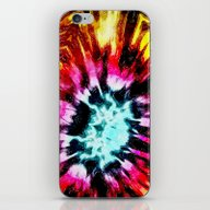 Colorful Poinsettia Abst… iPhone & iPod Skin