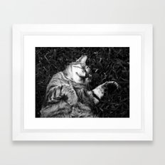 Dreaming of jamón Framed Art Print