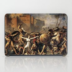 The Intercession of the Sabine Women iPad Case