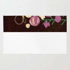 Floral Flower Artprint Rug