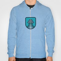 Alien Spacecraft Hoody