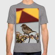 Sparrow Mens Fitted Tee Tri-Grey SMALL