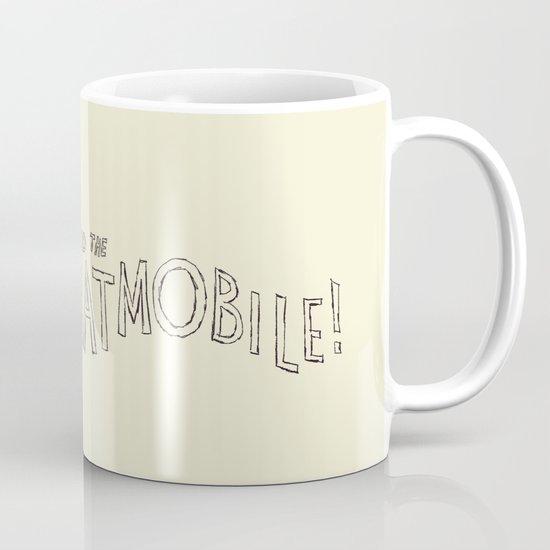 to the batmobile! Mug
