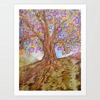 Prosperity Tree Art Print