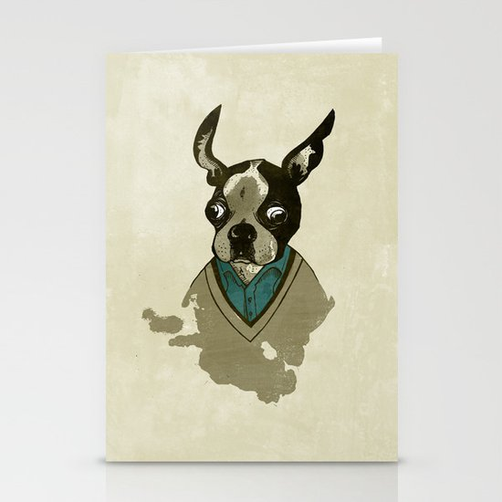 perfect gentleman Stationery Card