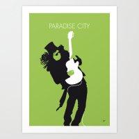 No036 Paradise City Mini… Art Print