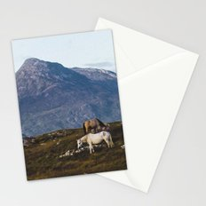 Connemara  - Horse and Mountains Stationery Cards
