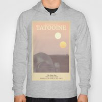 Retro Travel Poster Series - Star Wars - Tatooine Hoody