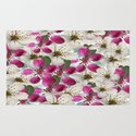 Spring Blossoms Abstract  Rug