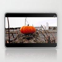 Urban grit pumpkin Laptop & iPad Skin