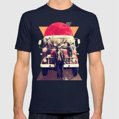 El Camion Mens Fitted Tee Navy SMALL