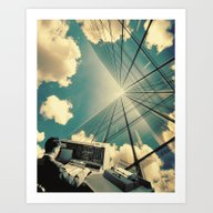 Art Print featuring He Wanted A Corner Offic… by TRASH RIOT
