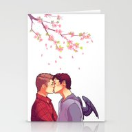 Stationery Cards featuring Cherry Blossoms by Brightfallenstars
