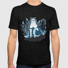 We are cats inside Mens Fitted Tee Tri-Black SMALL