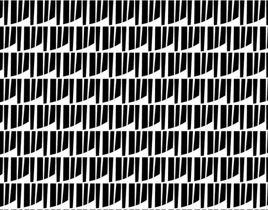 Westfranke Black & White Pattern Art Print