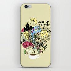 Wake Up & Create iPhone & iPod Skin