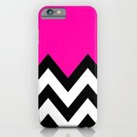 PINK COLORBLOCK CHEVRON iPhone 6 Slim Case