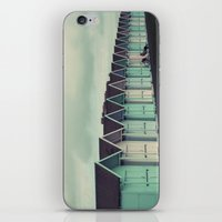 Beach Huts iPhone & iPod Skin