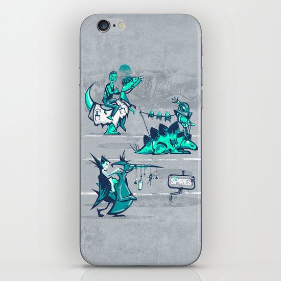 Post Human Caravan iPhone & iPod Skin