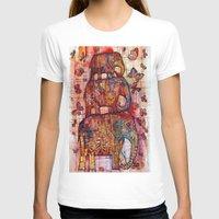 elephants T-shirts featuring Elephants by oxana zaika