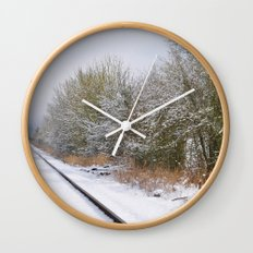 Remnants of a Simpler Time - The Tracks Wall Clock