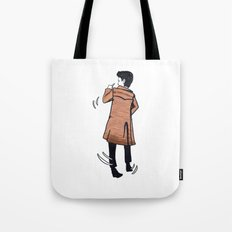 The Doctor dances Tote Bag