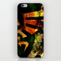 The Triforce - Digital W… iPhone & iPod Skin