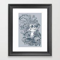 Do of the Dead Framed Art Print