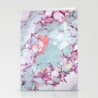 Marble Art V13 #society6… Stationery Cards