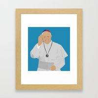 Pope Francis - San Loren… Framed Art Print