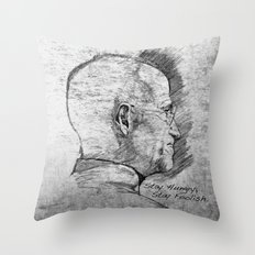 Stay Hungry, Stay Foolish. Steve Jobs 1955–2011 Throw Pillow