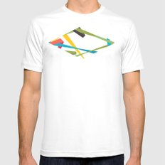 Banners Mens Fitted Tee White SMALL