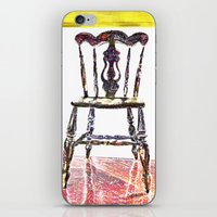 Chair Trio iPhone & iPod Skin