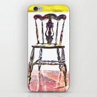 Chair Trio iPhone & iPod Skin