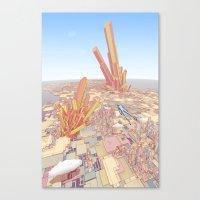 Merci Pour Tout, Monsieu… Canvas Print