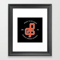 Giants World Series Cele… Framed Art Print