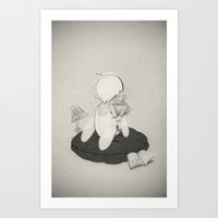 Introvertion Art Print