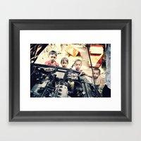 Our Gang N°2 Framed Art Print