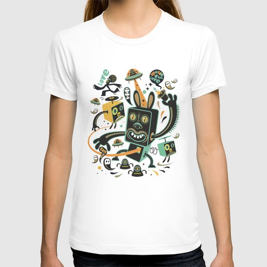 Little Black Magic Rabbit T-shirt