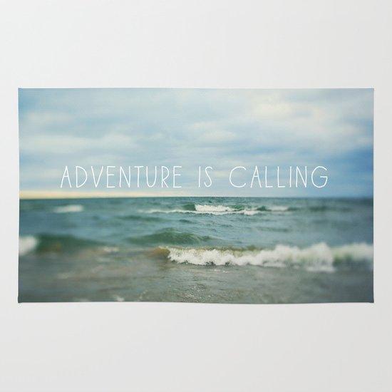 Adventure is Calling - Waves Area & Throw Rug