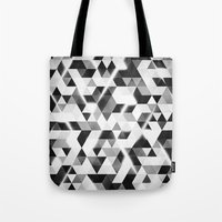 Amped (monochrome Series… Tote Bag