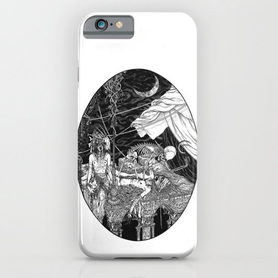 Fleeing Skeleton iPhone & iPod Case