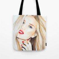 Rosie Huntington Whitele… Tote Bag